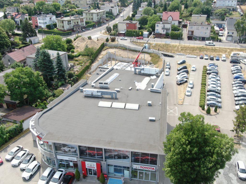 Kolejny etap na budowie w Rumii